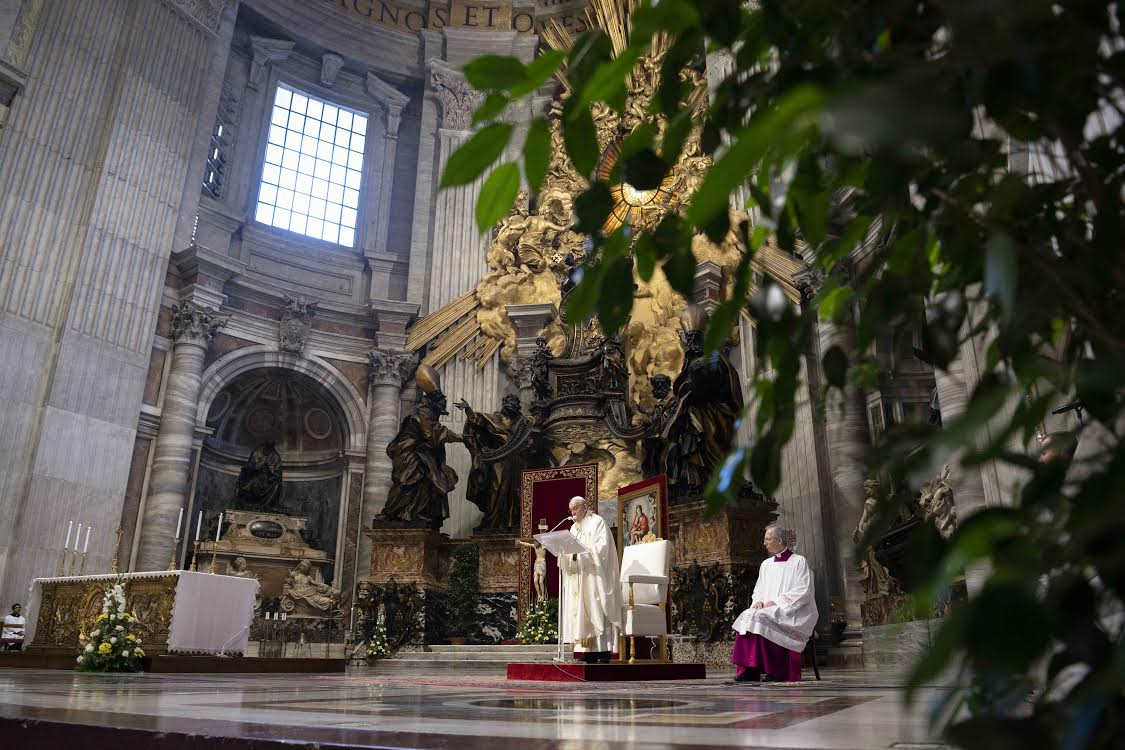 Fête-Dieu 14 juin 2020 © Vatican Media
