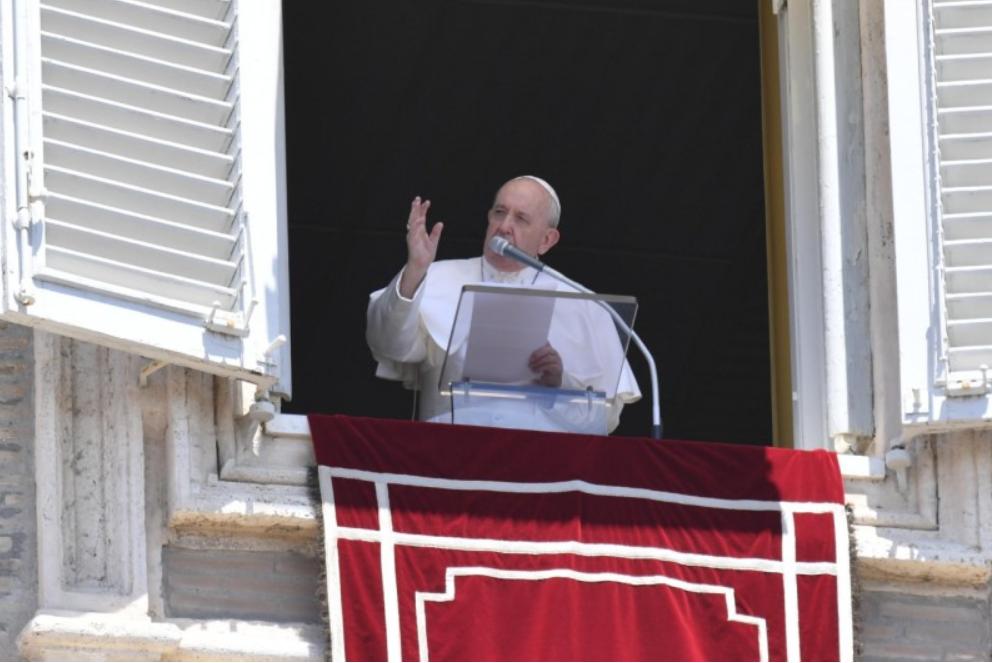 Angélus du 21 juin 2020 © Vatican Media