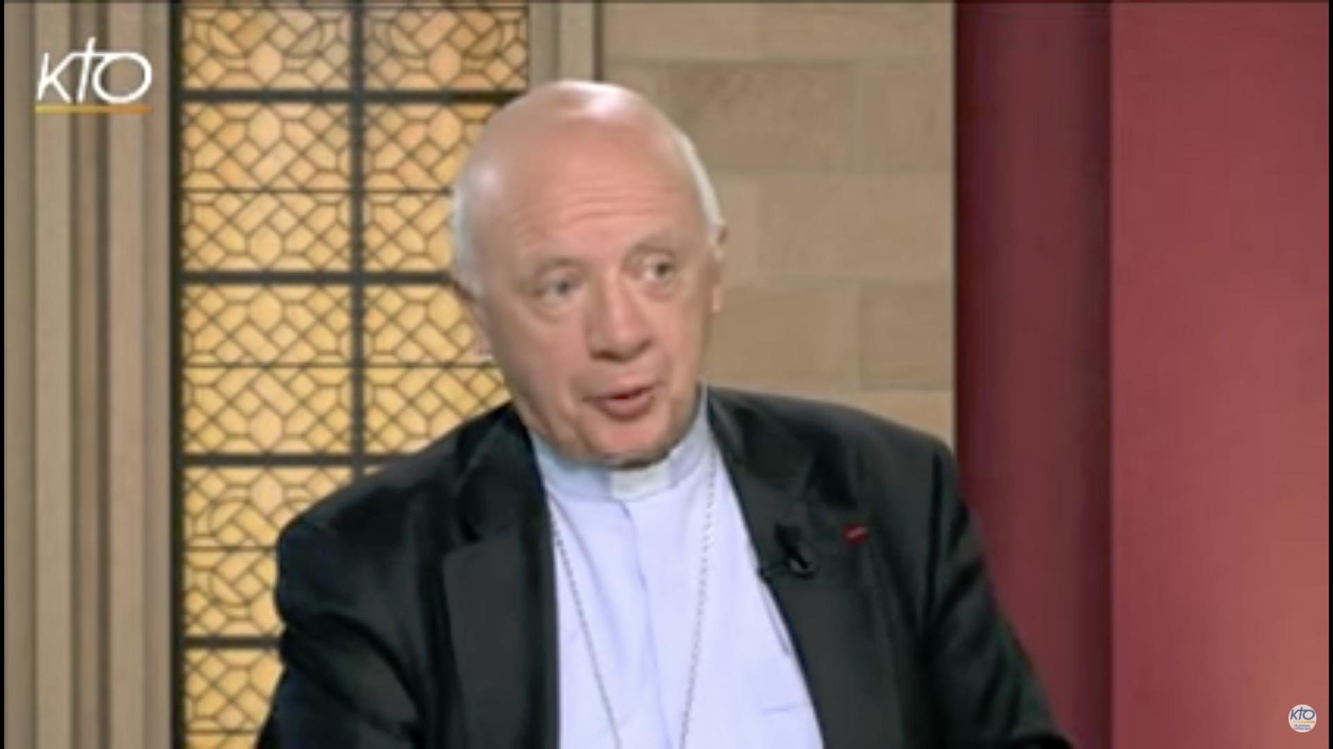 Mgr Jean-Claude Boulanger, capture @ Kto.Tv