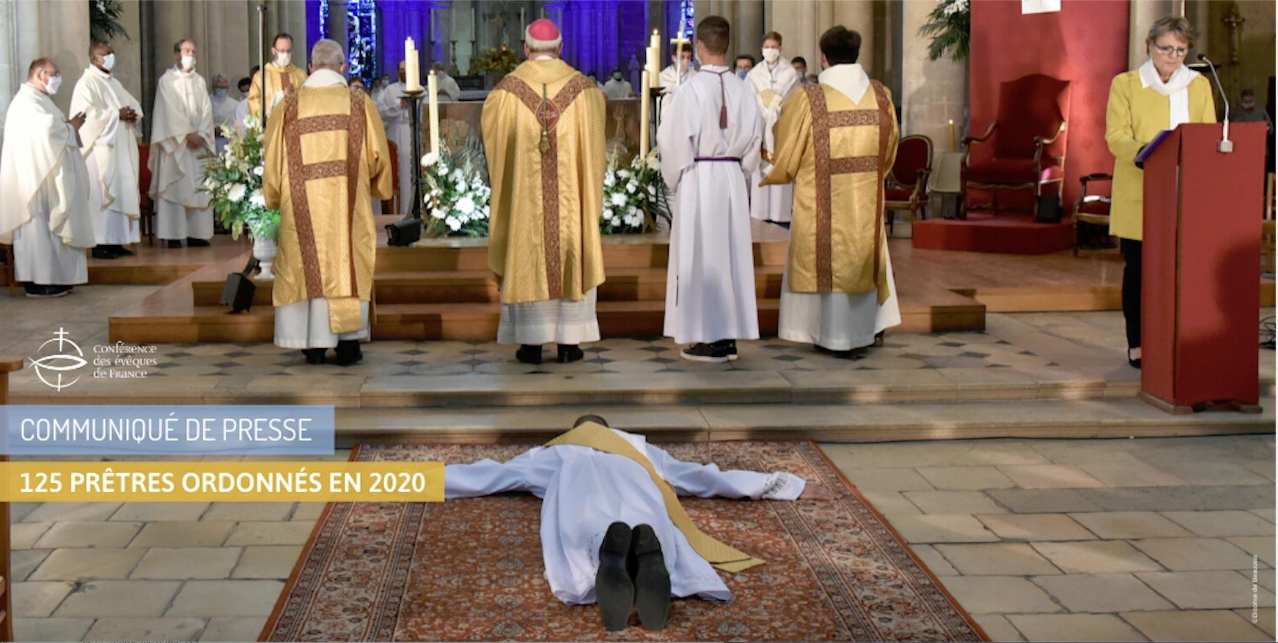 Ordinations sacerdotales en France en 2020, capture @ Diocèse de Beauvais