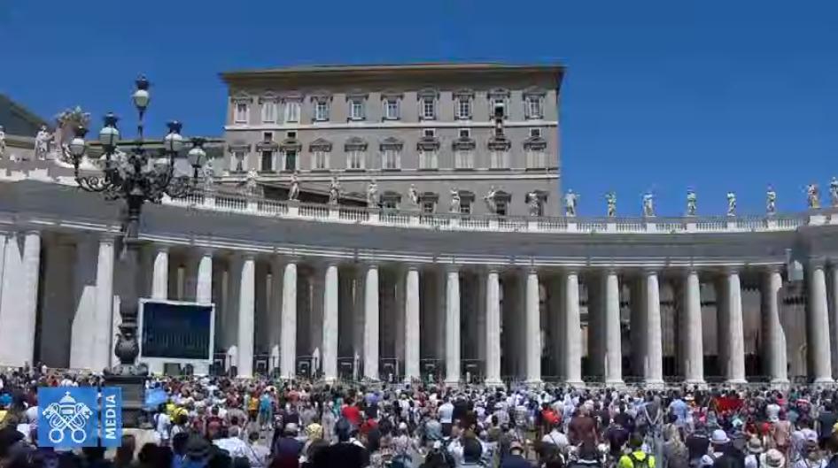 Angélus du 19 juillet 2020, capture Vatican Media