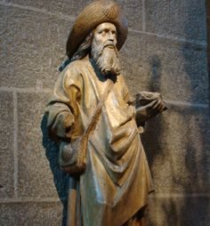 Saint Jacques, statue @ Notre-Dame-du-Puy-en-Velay / Nanon Family