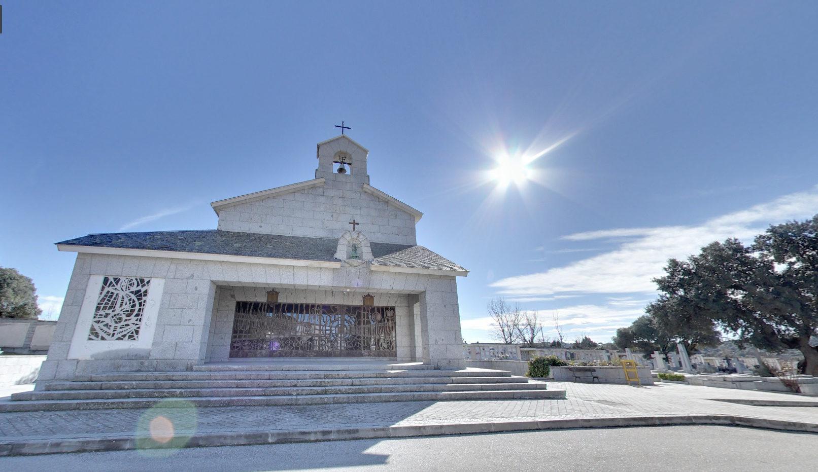 Mausolée de Franco au cimetière de Mingorrubio (Espagne), capture @ Google Maps