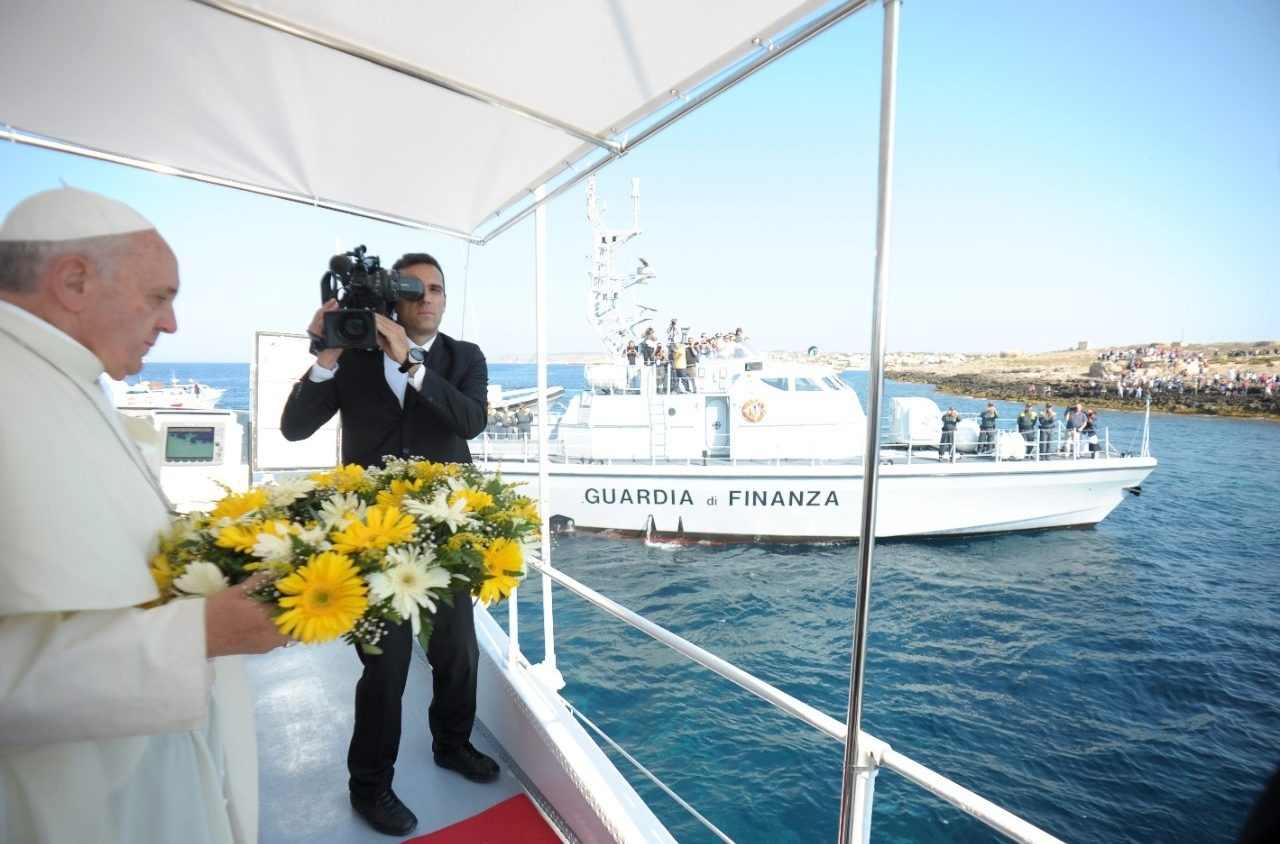 Lampedusa, 8 juillet 2013 © L'Osservatore Romano