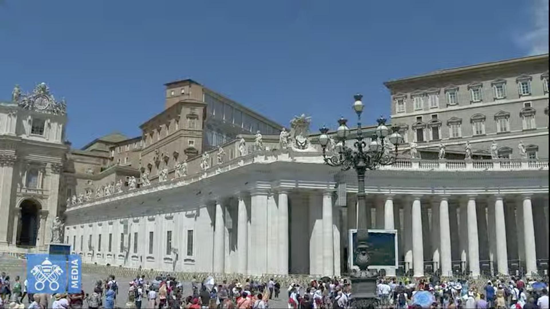 Angélus du 26 juillet 2020, capture @ Vatican Media