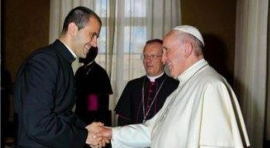 Père Fabio Salerno secrétaire particulier du pape © Vatican News