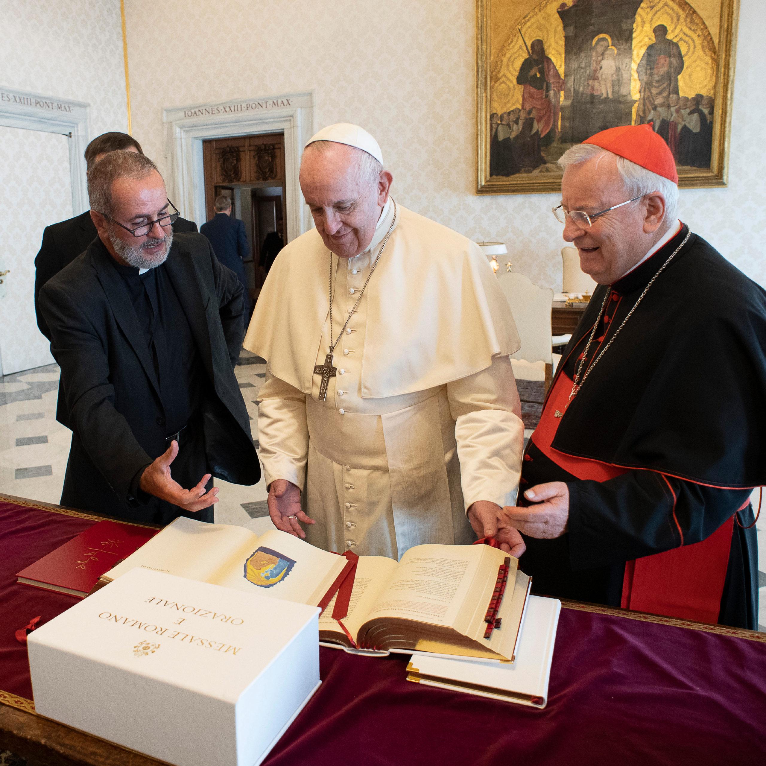 Nouveau missel italien © Vatican Media
