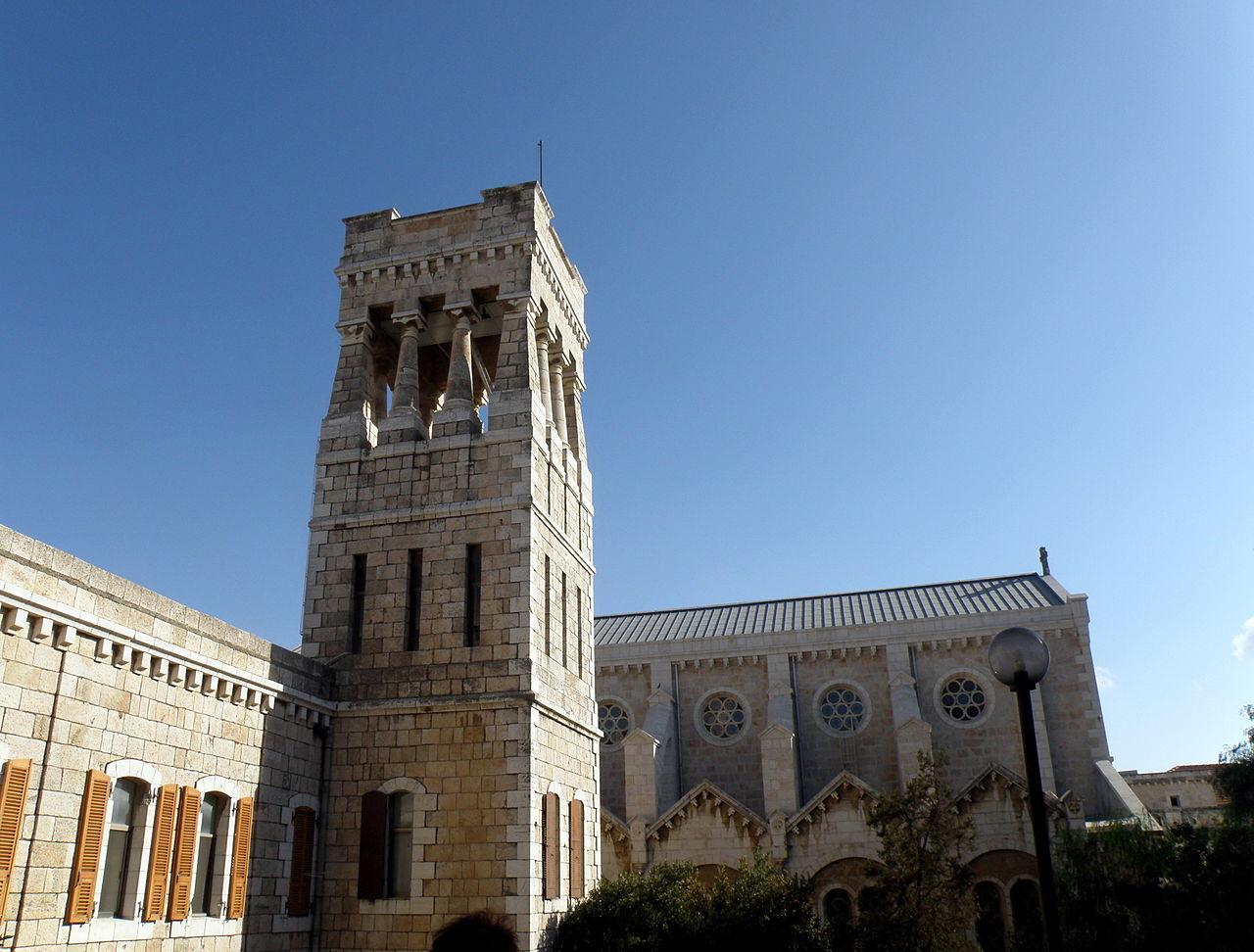 Ecole Biblique de Jérusalem @ wikimedia commons / RonAlmog