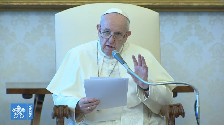 Audience du 19 août 2020 © Vatican Media