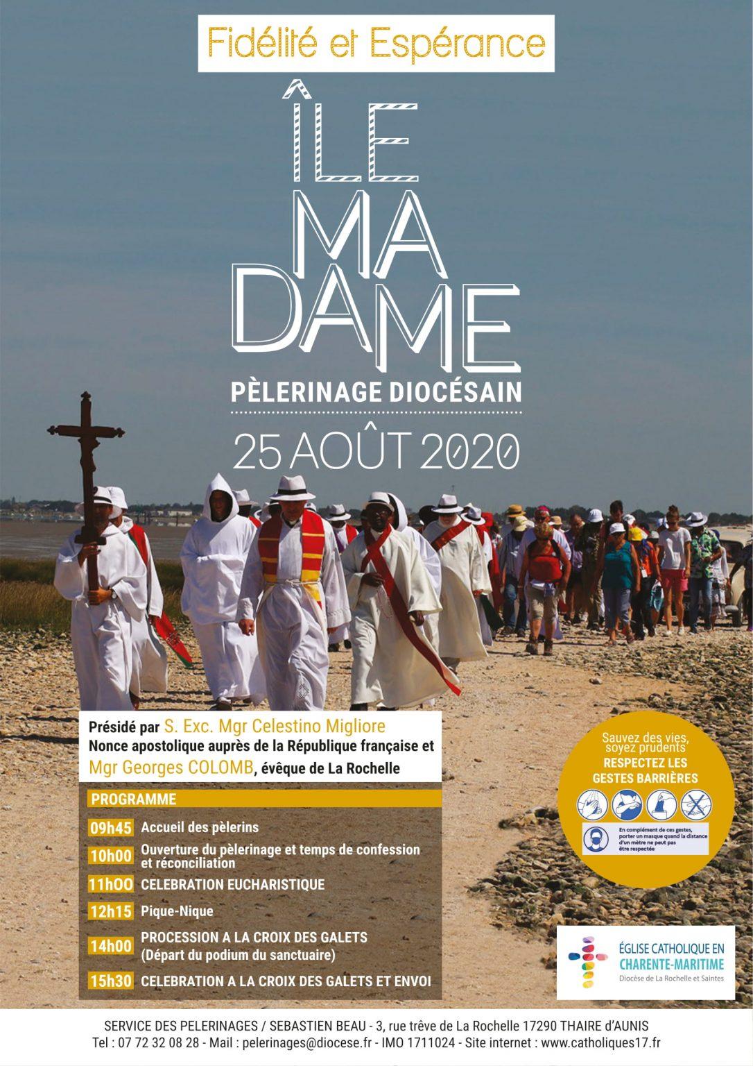 Pèlerinage Pèlerinage l'île Madame, © Site du diocèse de La Rochelle & Saintes
