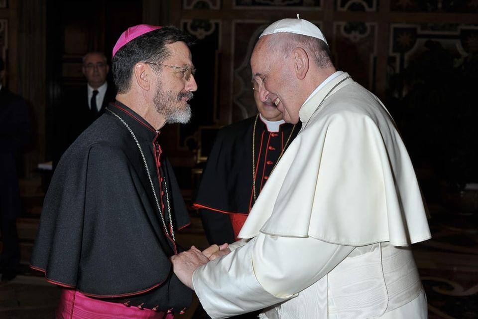 Mgr Lisboa, © page Facebook du diocèse de Pemba