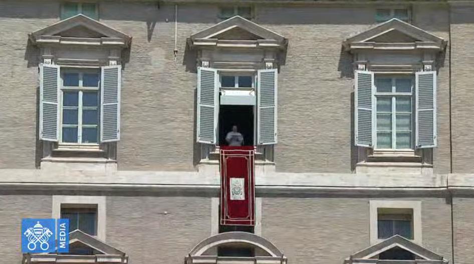 Angélus du 2 août 2020, capture Vatican Media