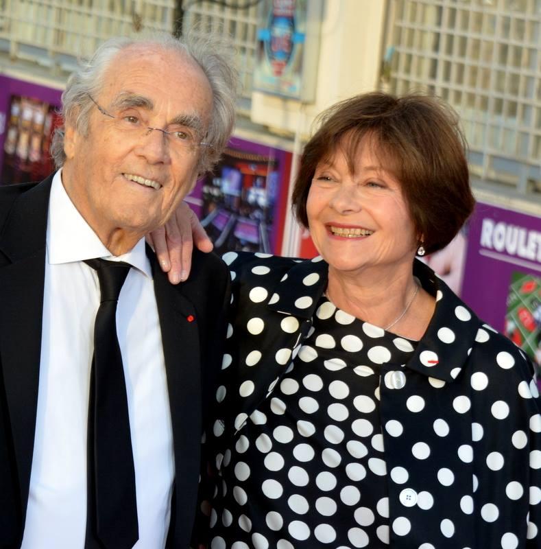 Macha Méril et Michel Legrand, Festival de Cabourg 2015 @ wikimedia commons / Georges Biard