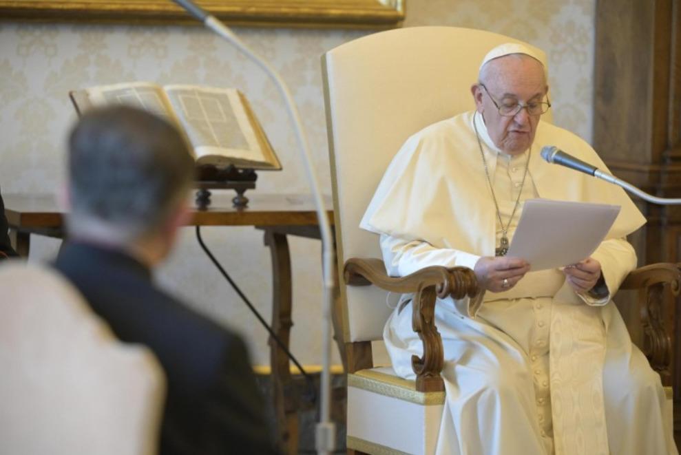 Audience générale du 12 août 2020 © Vatican Media