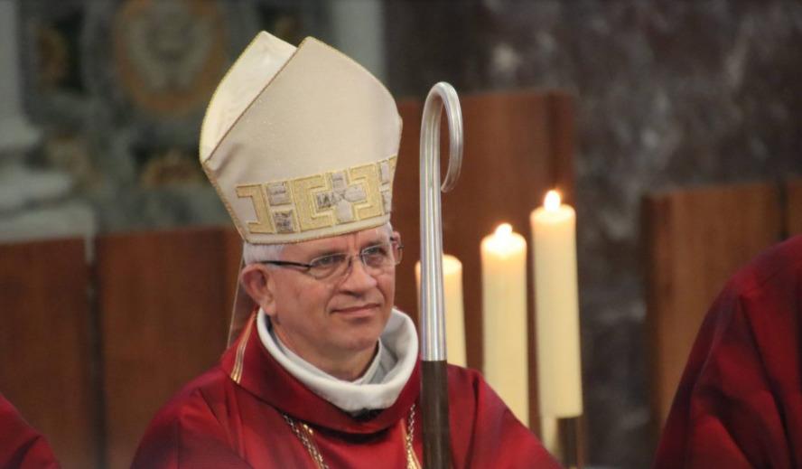 Mgr Olivier Leborgne © www.amiens.catholique.fr