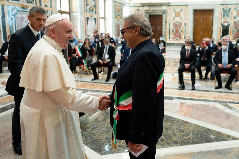 """Salvatore Martello,, Projet européen """"Snapshots from the Borders"""" © Vatican Media"""