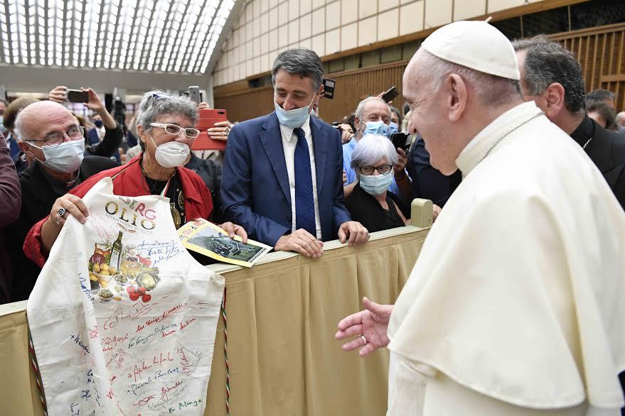 Communautés Laudato si' © Vatican Media