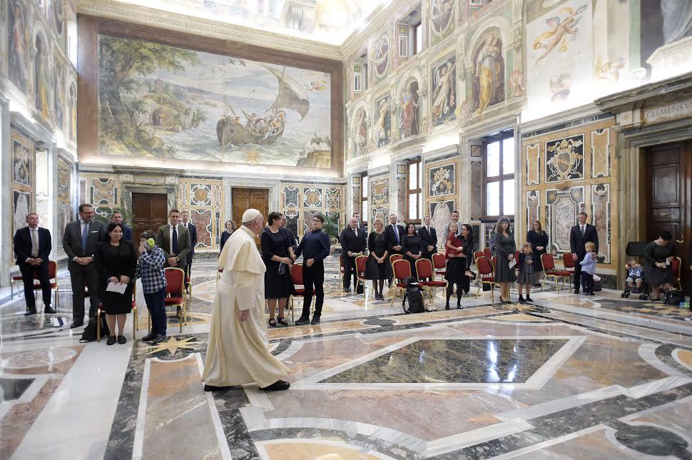 """Centre """"Sonnenschein"""" © Vatican Media"""