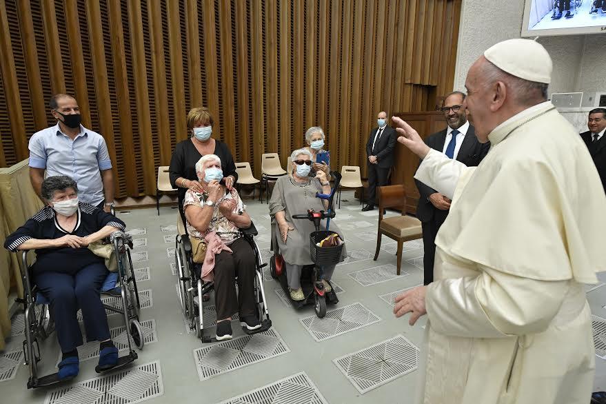 Congrès mondial de gynécologie oncologique © Vatican Media