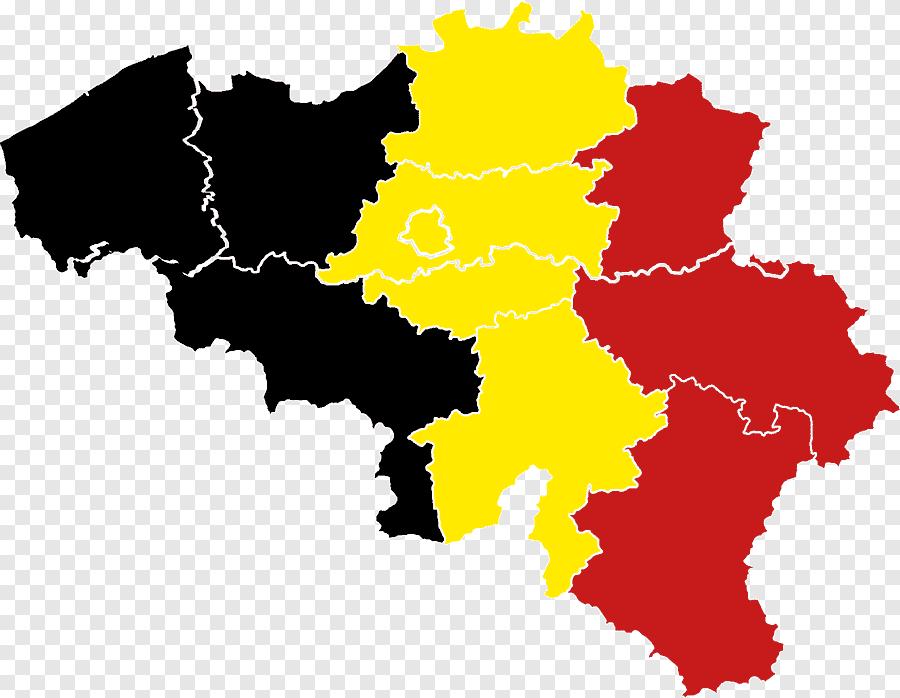 Région flamande, Provinces de Belgique @wikimedia Commons png