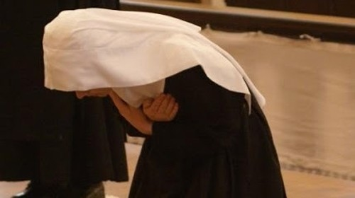 Novice Clarisse © L'Osservatore Romano