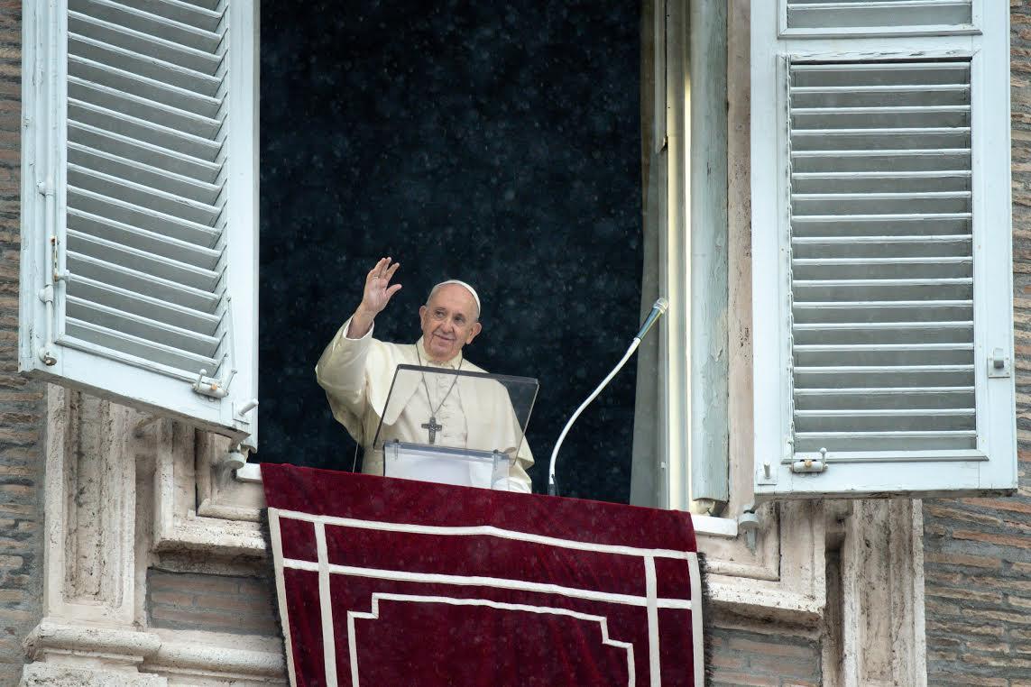 Angélus du 27 sept. 2020 © Vatican Media