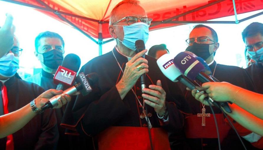 Le card. Parolin à Beyrouth, Liban © Vatican News