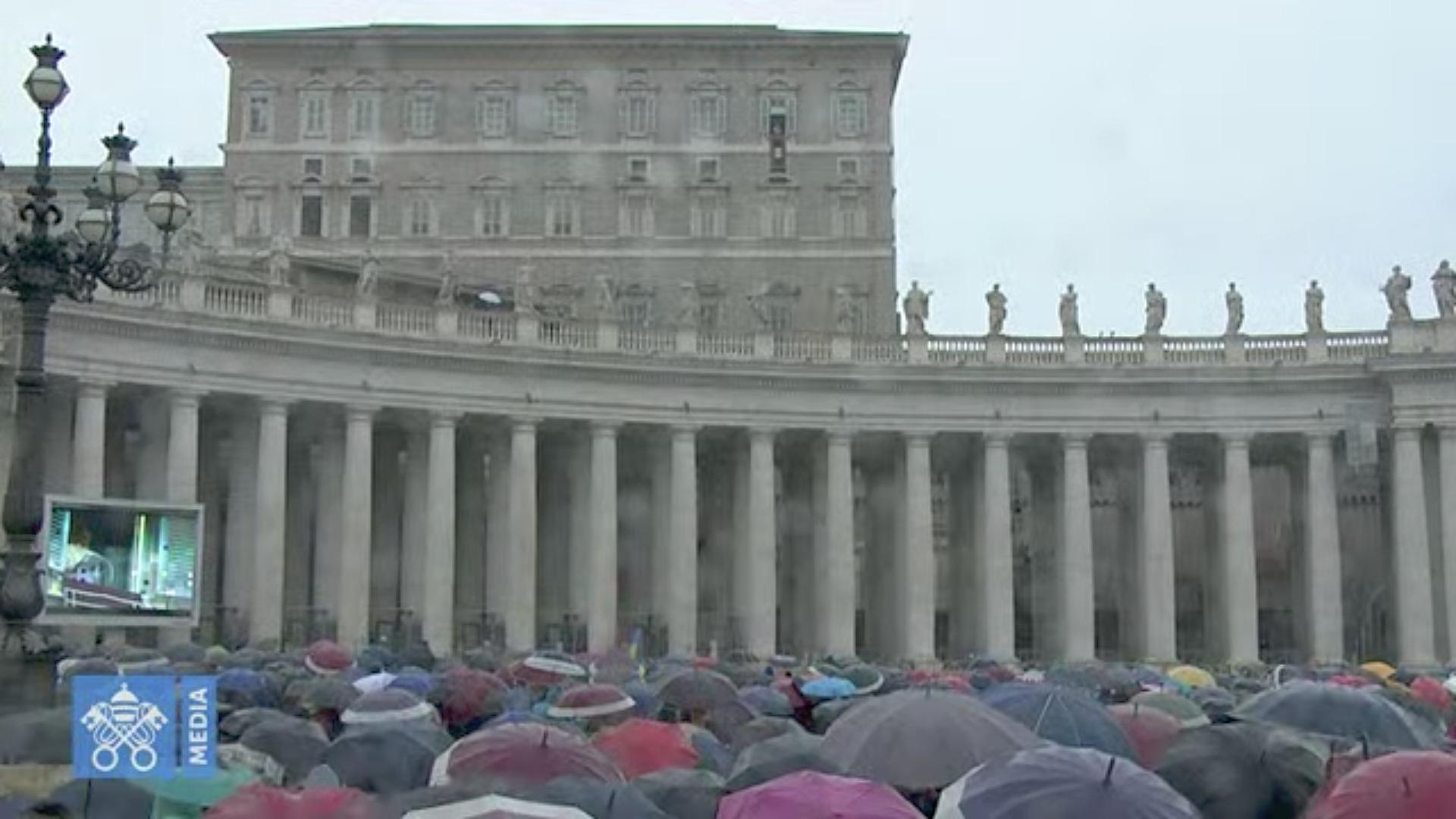 Angélus du 27 sept. 2020, capture Vatican Media
