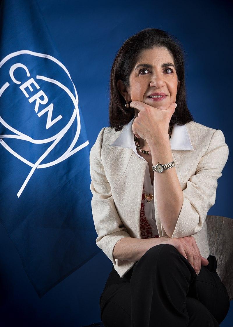 Mme Fabiola Gianotti @ CERN Document Server / Maximilien Brice