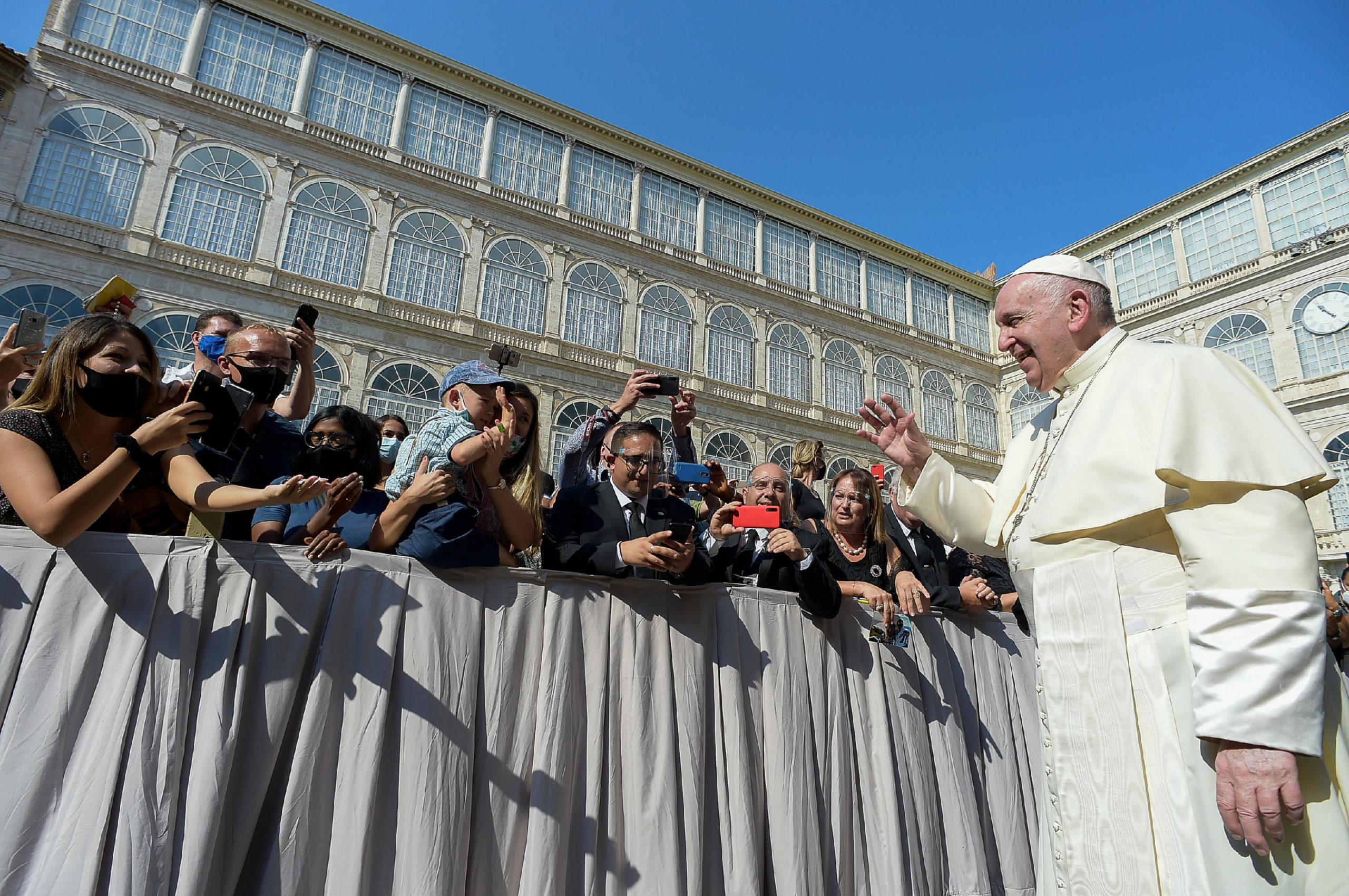 Audience du 16 sept. 2020 © Vatican Media