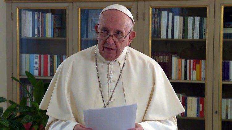 Message du pape à l'ONU © Vatican Media