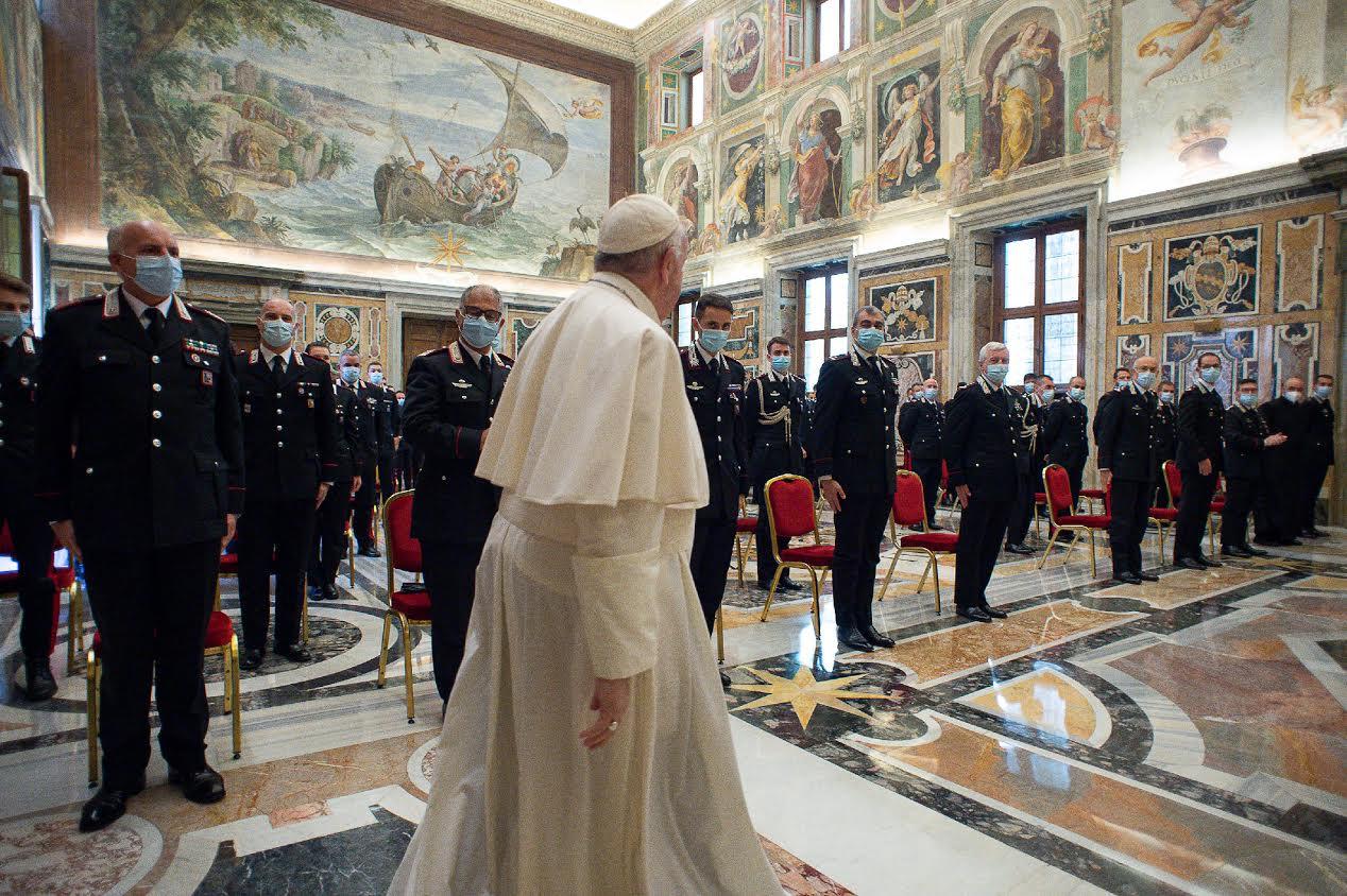 Carabiniers de la compagnie San Pietro © Vatican Media