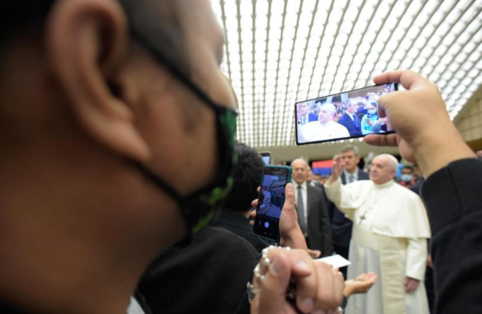 Audience générale du 7 octobre 2020 © Vatican Media