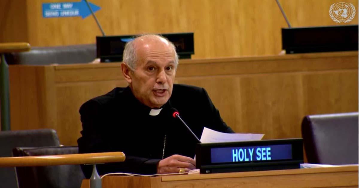 Mgr Gabriele Giordano Caccia @ Holy See Mission