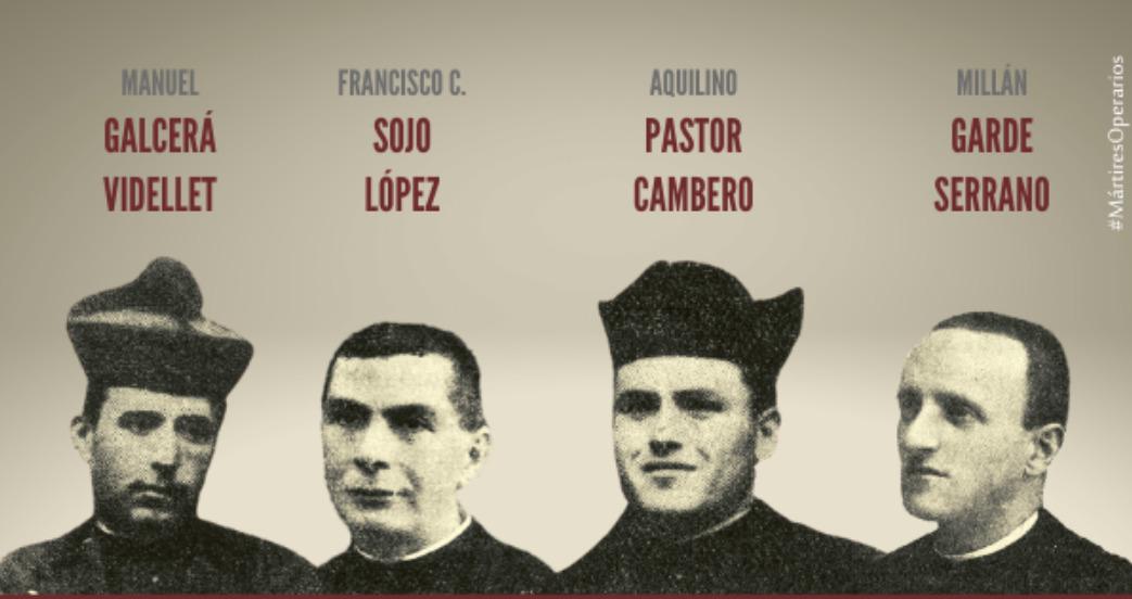 Prêtres martyrs © sacerdotesoperarios.org