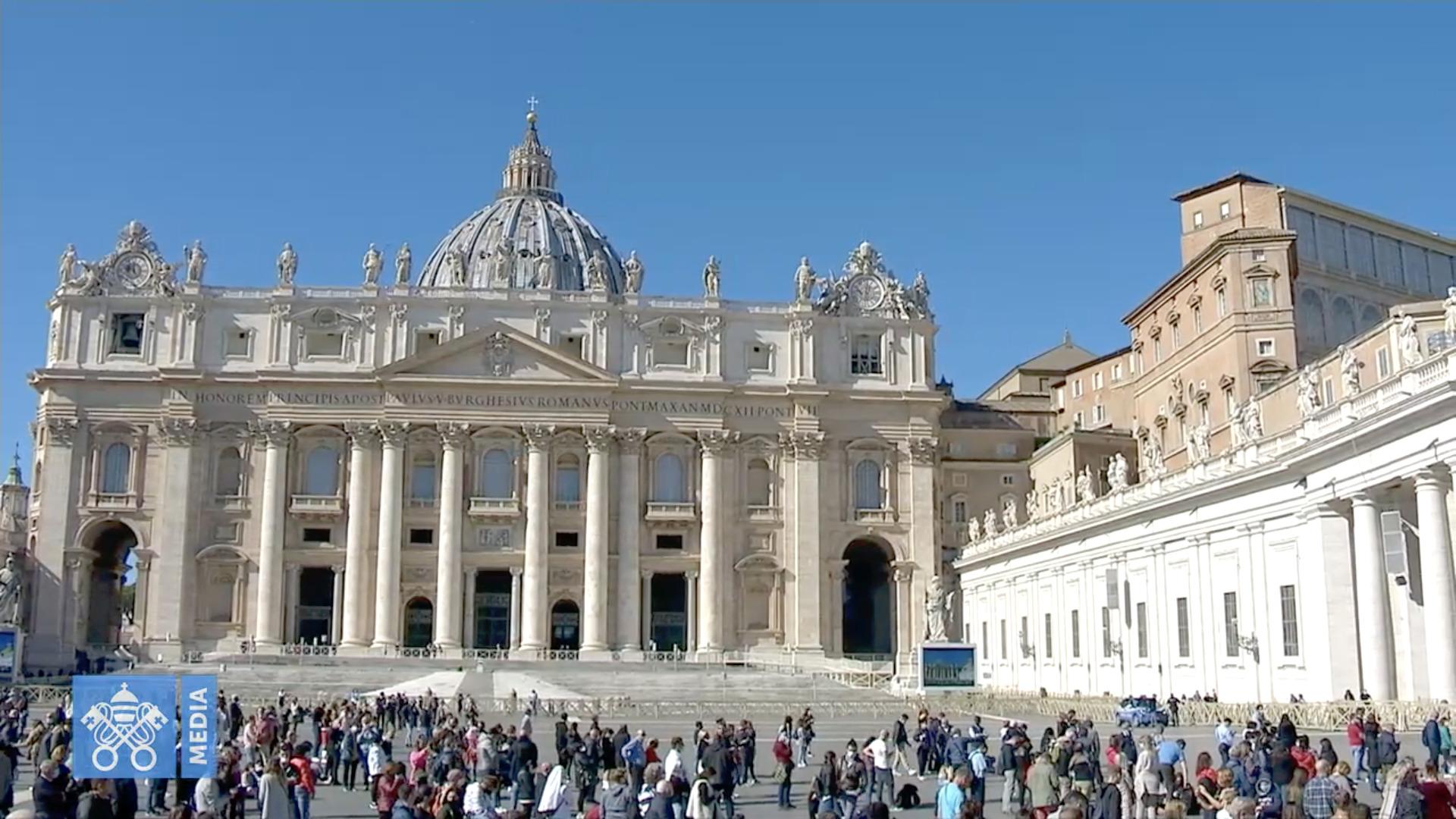 Angélus du 18 oct. 2020, capture @ Vatican Media
