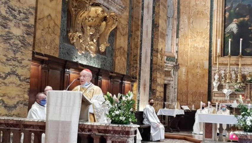 Cardinal Poupard, saint Louis des Français @ va.ambafrance.org