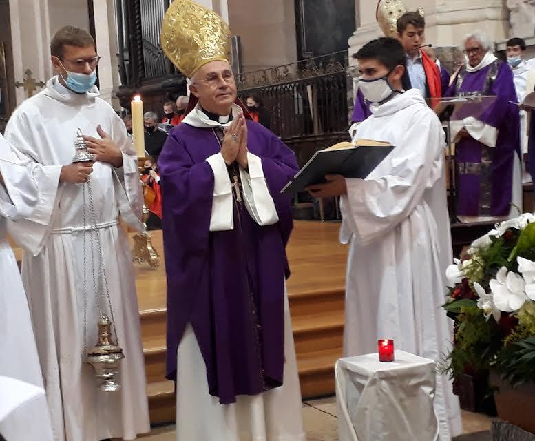 Dernier adieu à Michaël Lonsdale par Mgr Le Gall @ Diaconie de la Beauté