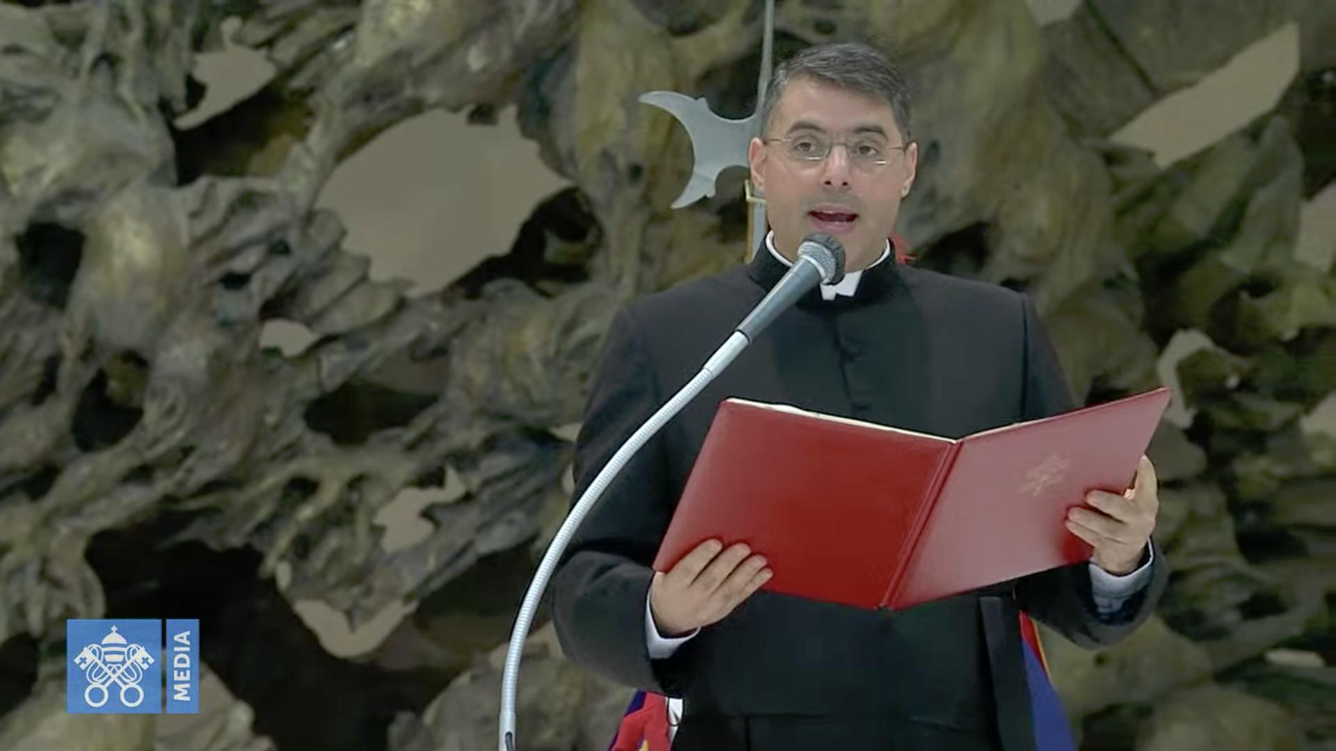 Catéchèse en arabe, 22 oct. 2020, capture @Vatican Media