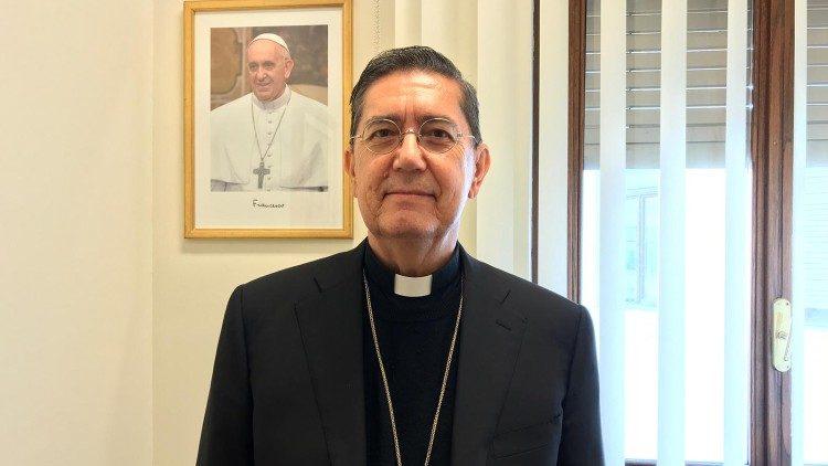Le card. Ayuso Guixot © Vatican Media