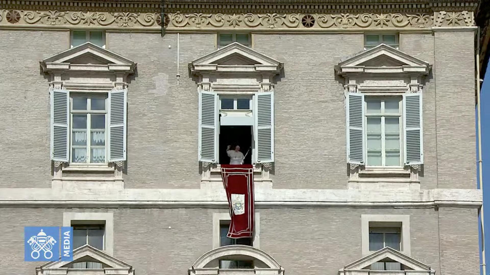 Angélus, 4 oct. 2020, capture @ Vatican Media