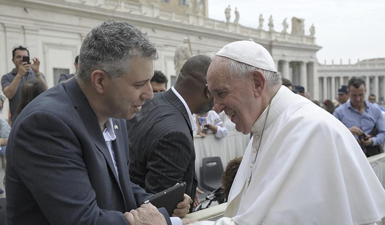 Evgeny Afineevsky © Vatican Media