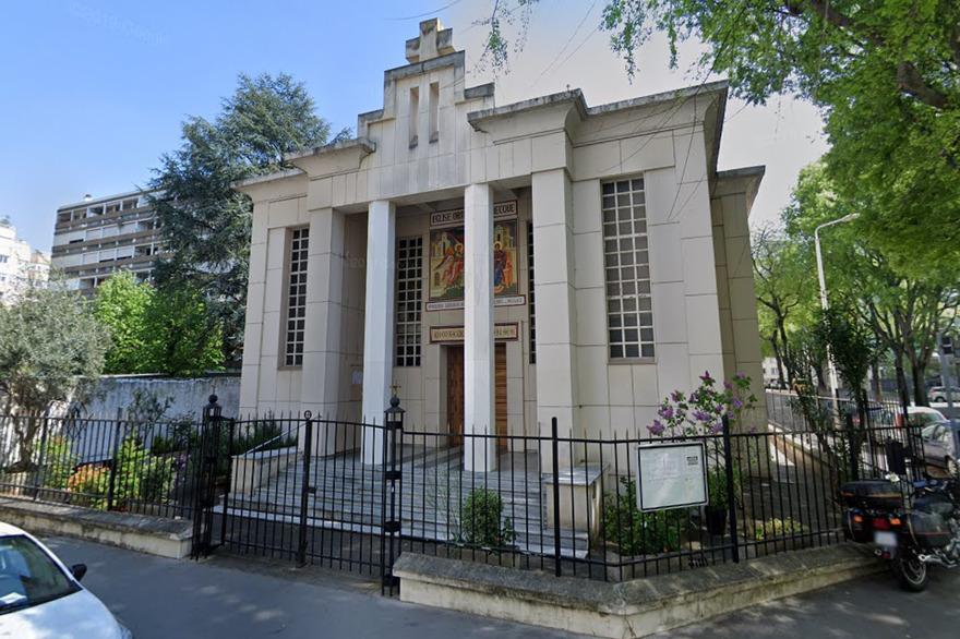 Eglise grecque orthodoxe de Lyon, crédit: Google