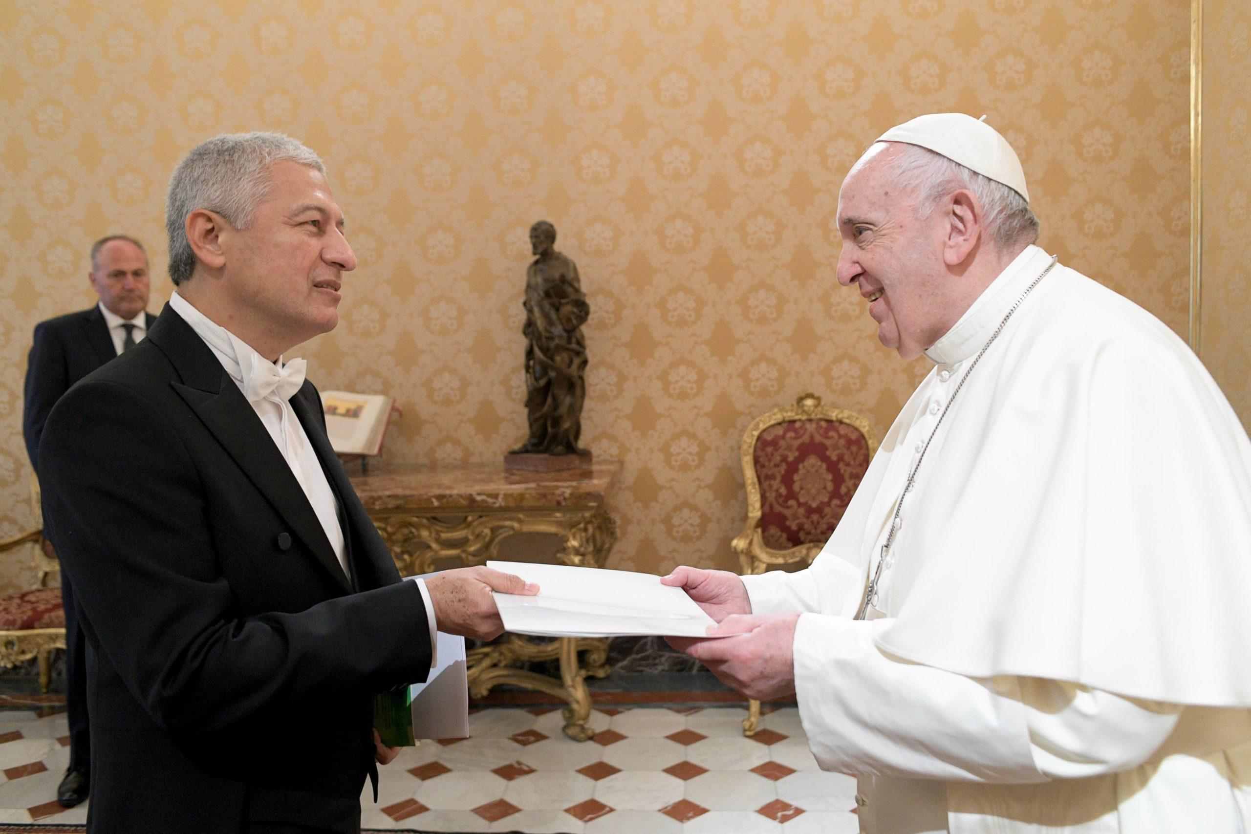 Francisco Javier Bautista Lara, ambassadeur du Nicaragua © Vatican Media