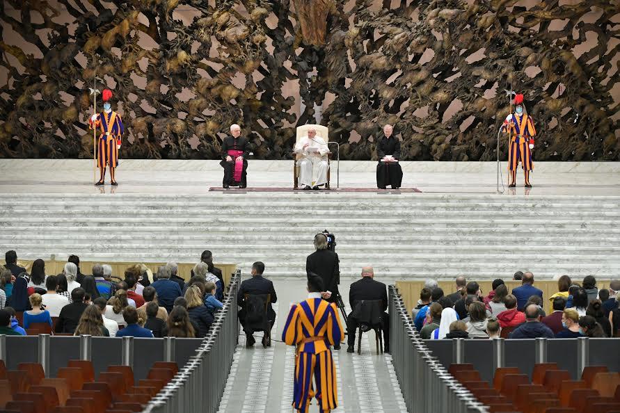 Audience du 28 oct. 2020 © Vatican Media