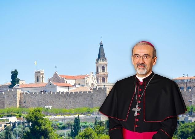 Mgr Pizzaballa © www.lpj.org