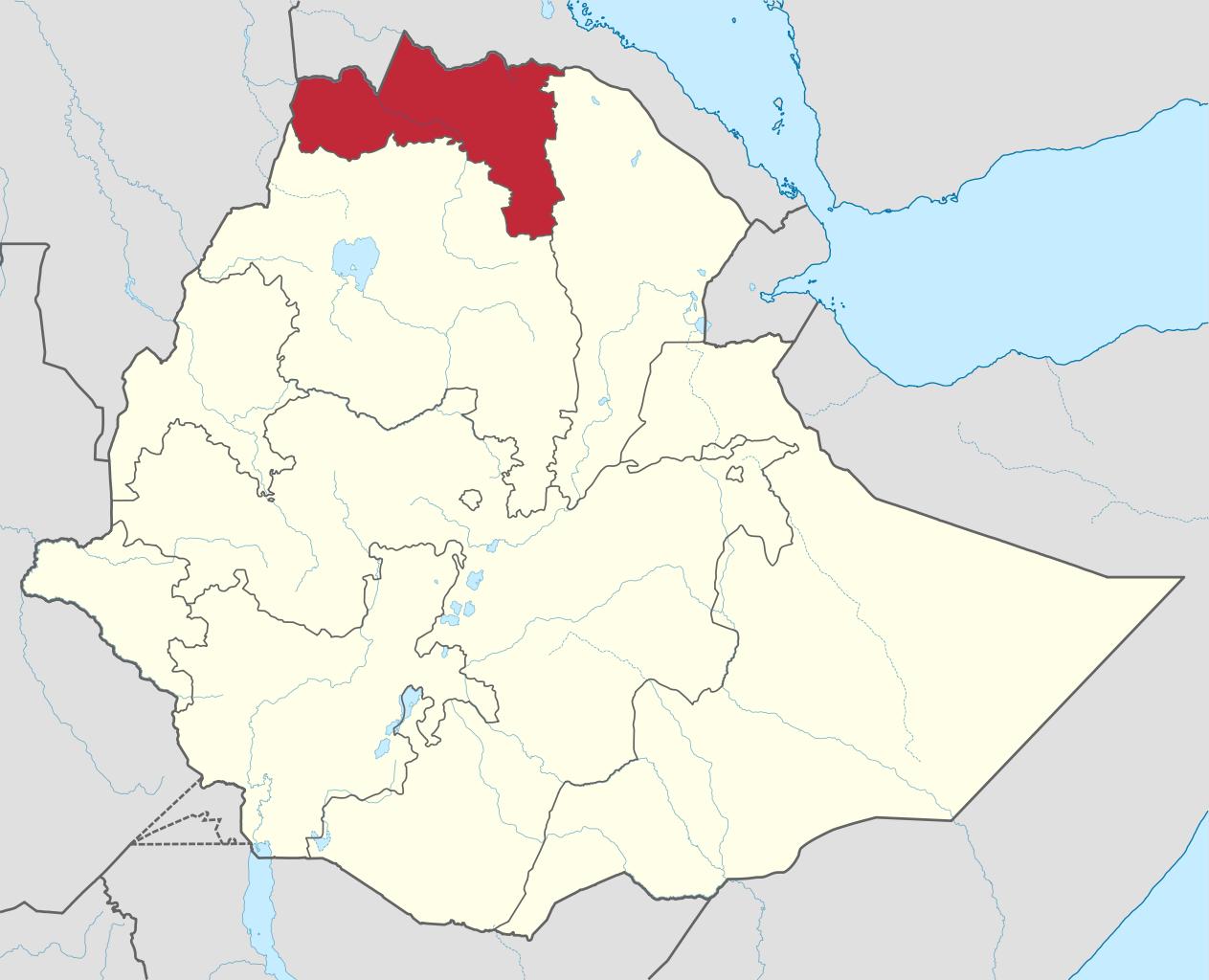 Ethiopie, région du Tigré @ wikimedia commons/TUBS