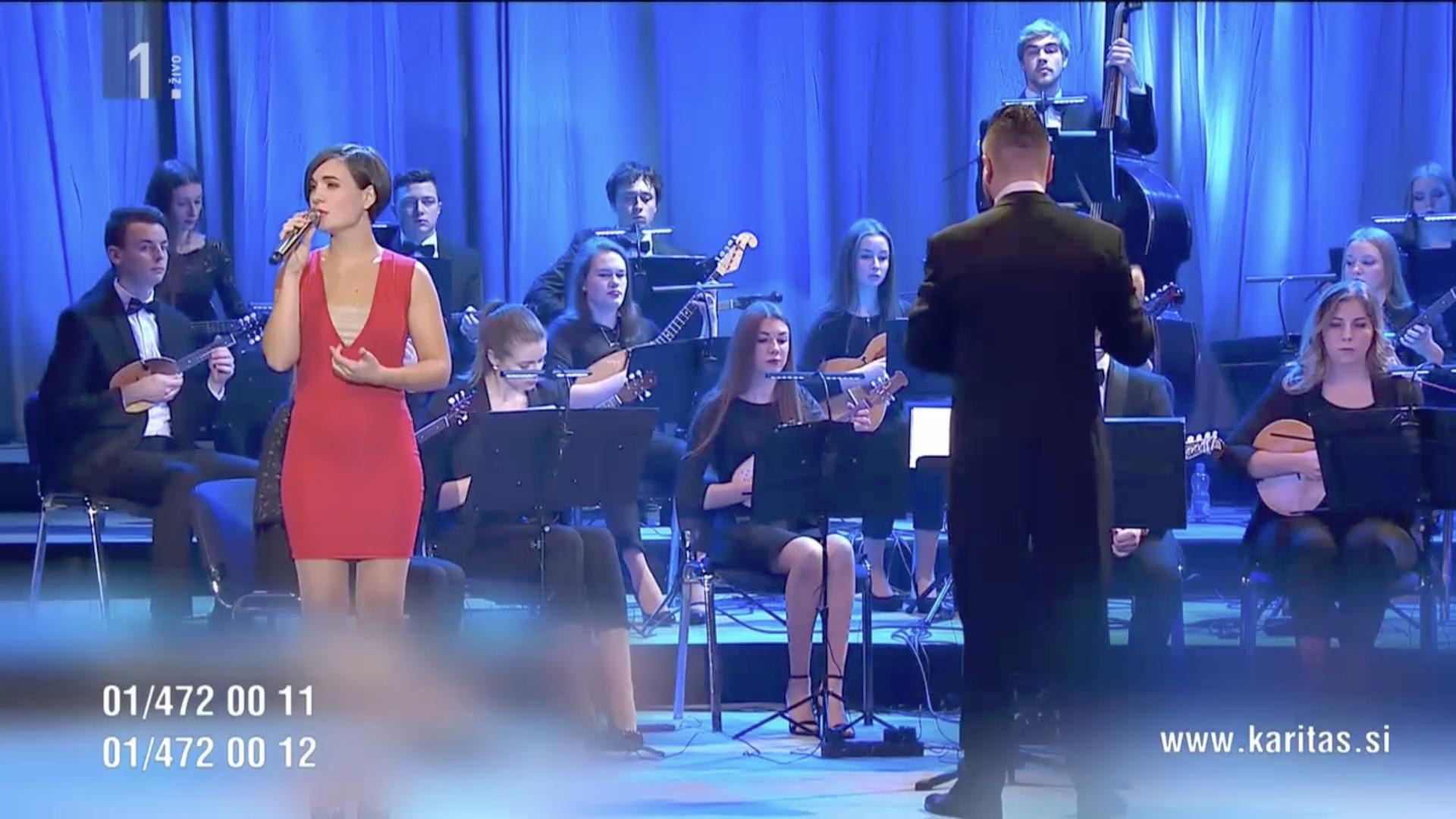 Concert de la Caritas slovène, capture, 25 nov. 2020