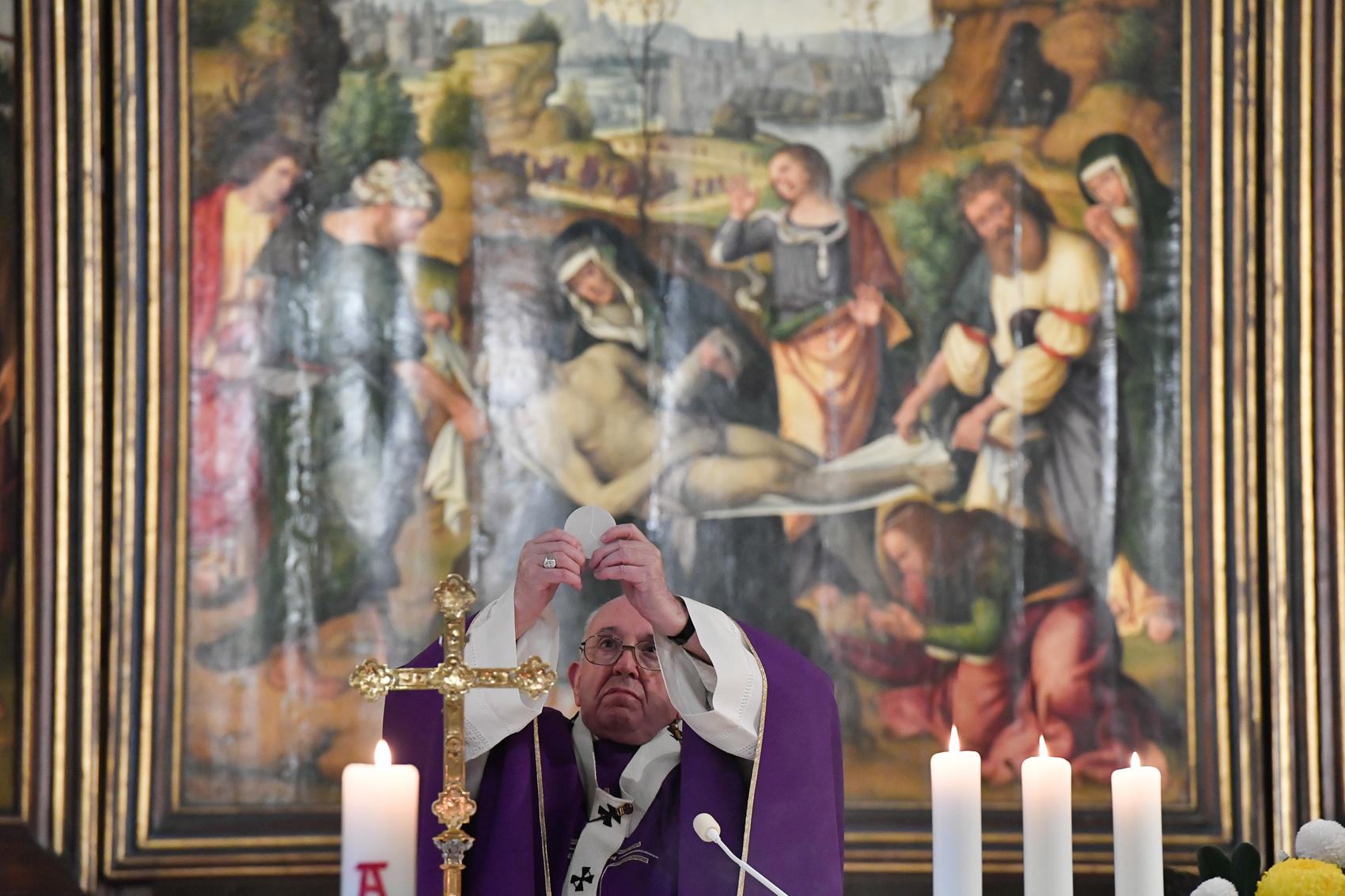 Messe du 2 novembre 2020 © Vatican Media