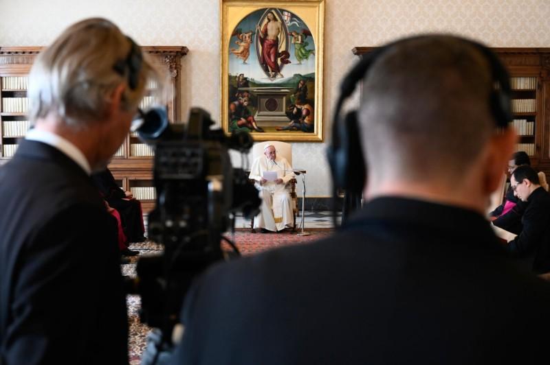 Audience générale du 25 nov. 2020 © Vatican Media
